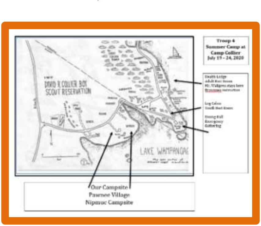 Camp Collier Map Thumbnail